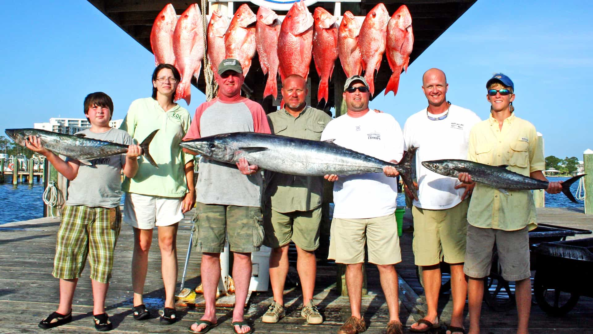 Wounded Warrior Deep Sea Fishing Trip