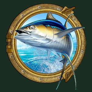 Action Charter Service Fishing Charter Porthole Logo