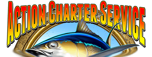 Action Charter Service Logo Orange Beach Fishing Charter