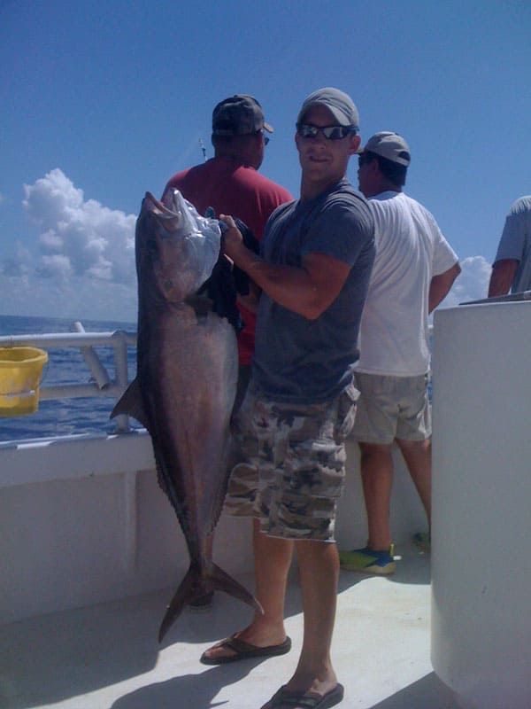 Amberjack Fishing with Action Charter Service