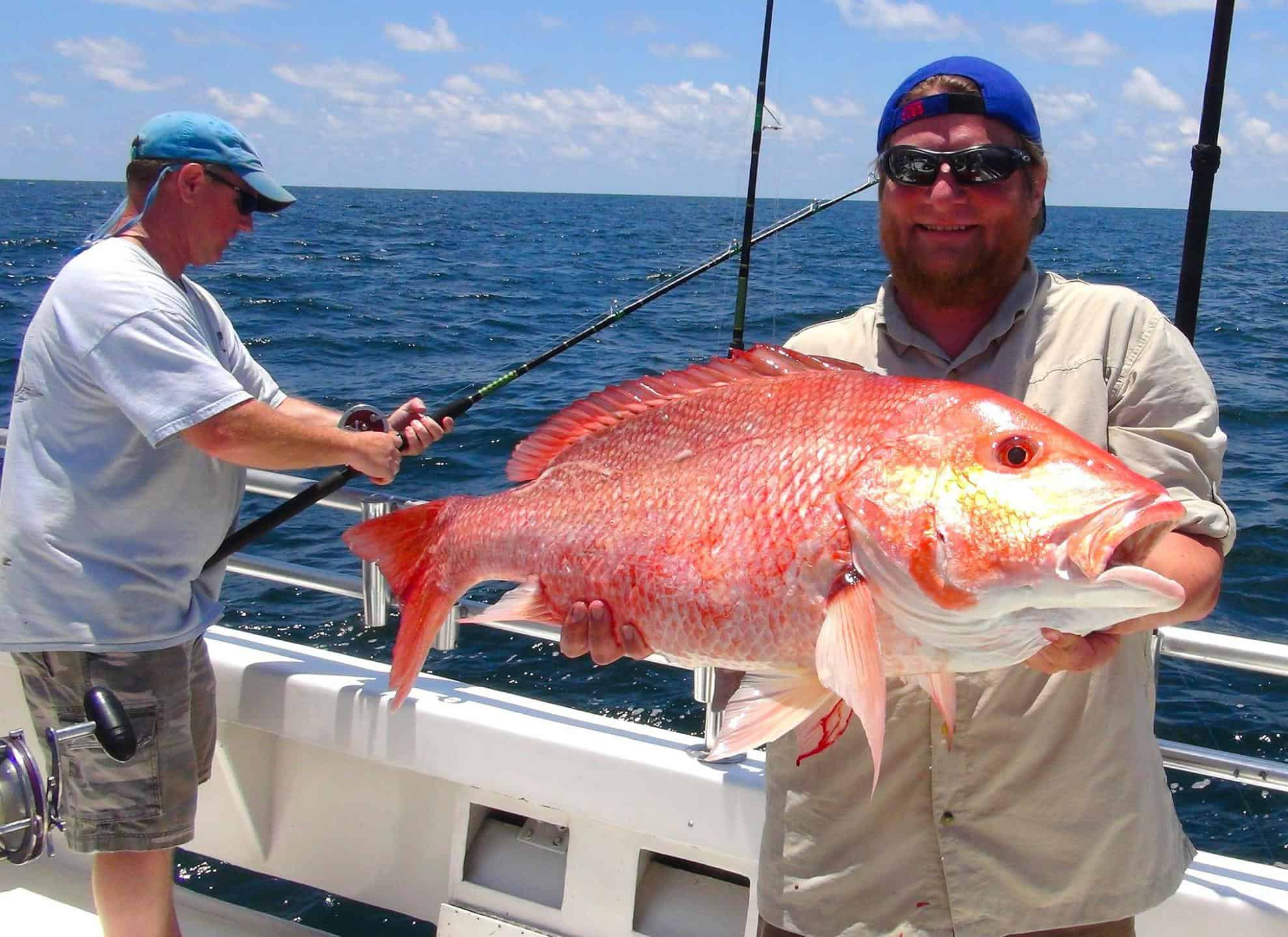 Deep Sea Fishing Red Snapper in Orange Beach, Alabama Charter